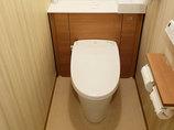 トイレリフォームスッキリとした空間と使いやすい機能を搭載したトイレ