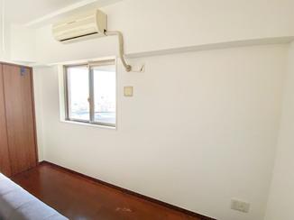 小工事 キレイに補修した部屋の壁